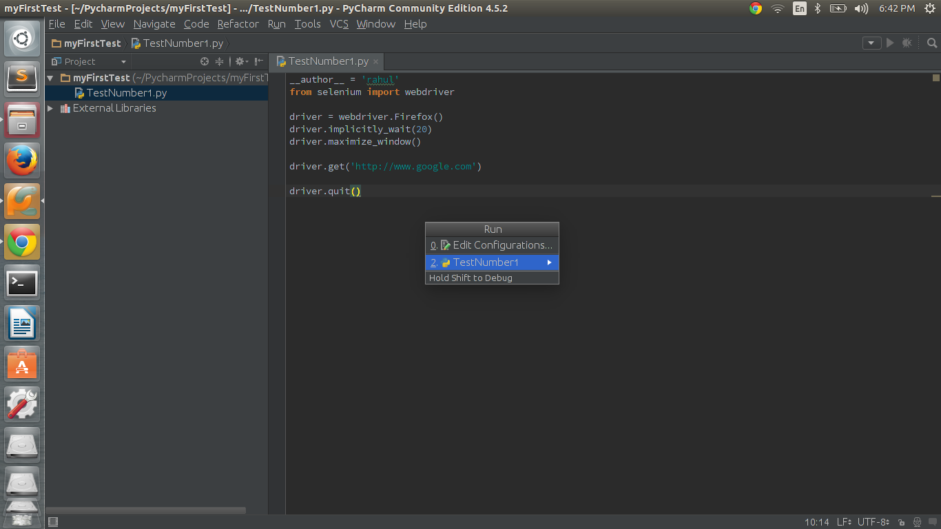 First Script-Selenium With Python – All Things Selenium and QA